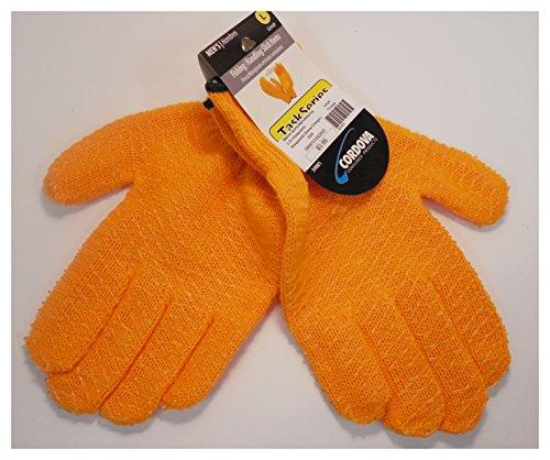 Unisex-Adult Honeycomb Lobster Gloves L Orange