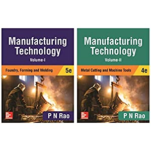 Manufacturing Technology – Vol.1 & 2 (Set of 2 books)