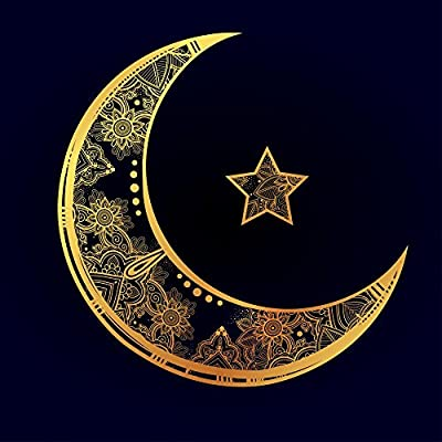 Wallmonkeys Ramadan Greetings Ornate Wall Mural Peel and Stick Vinyl Graphic WM368333