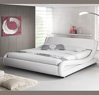 muebles bonitos Letto matrimoniale moderno di design Alessia bianco ...