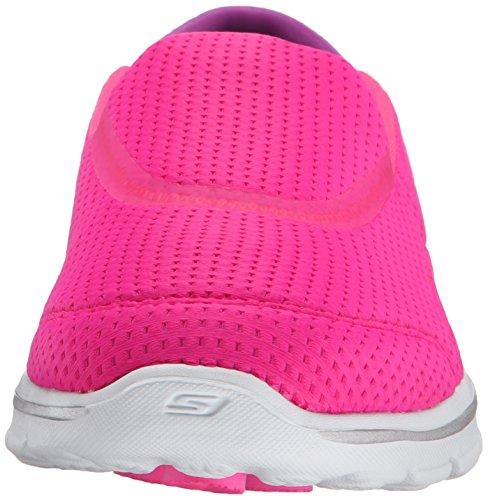 Donna Ginnastica 3 Gowalk Hot Scarpe Skechers Pink unfold Da n5YXxw5qd