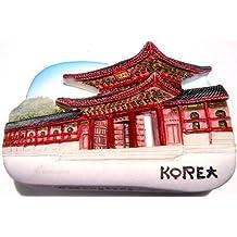 Gyeongbokgung Palace Seoul South Korea, High Quality Resin 3d Fridge Magnet