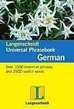 Langenscheidt Universal Phrasebook German (Langenscheidt Universal Phrasebooks)