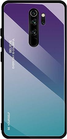 Funda para Xiaomi Redmi Note 8 Pro, Gradiente de Color Carcasa ...