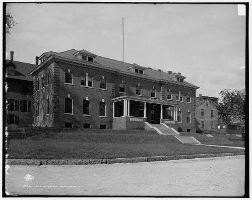 Photo: Boston,Maine Railroad,YMCA,facilities,buildings,Concord,New - Map Concord Maine