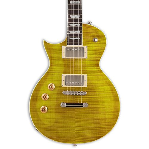 ESP LTD EC-256 Left Handed Electric Guitar, Lemon Drop