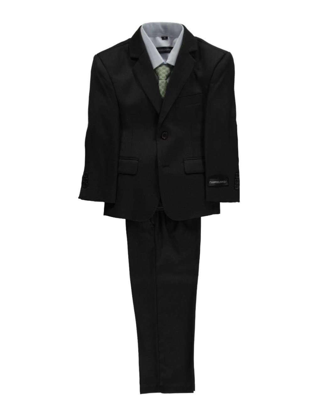 Kids World Big Boys'Titchwell 5-Piece Suit - Dark Olive, 14