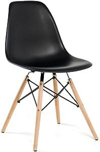 Artefama Furniture Eiffel Dining Chair, Black
