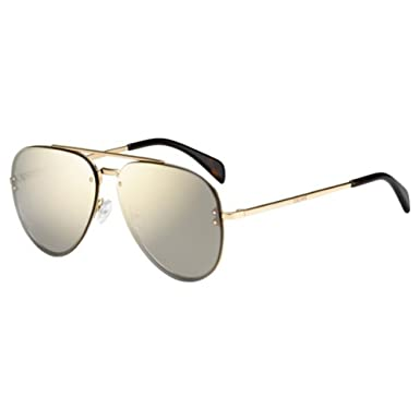 38dde7507009 Sunglasses Celine 41392 S 0J5G Gold   0J gray rose gold lens  Amazon.ca   Clothing   Accessories