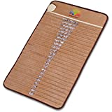 Radiant Far Infrared Mini Mat with 100% Amethyst Crystal Radiant Heat Therapy (20'' X 31'') FDA Registered Manuf - Adjustable Temp Settings - Comfortably flexible.