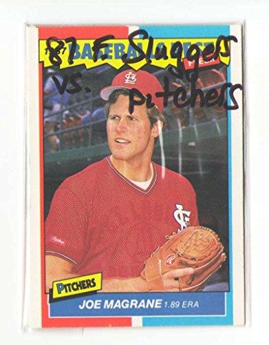 (1987 Fleer Sluggers vs Pitchers ST LOUIS CARDINALS Team Set)