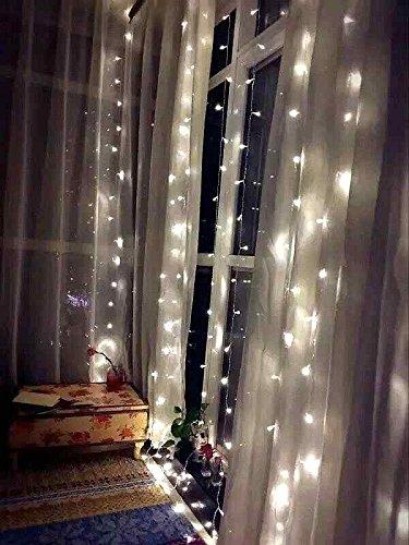 Fefelightup String Fairy Light Window Curtain Icicle