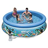 Cheap Intex 10ft X 30in Ocean Reef Easy Set Pool Set