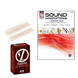 Sound Innovations Book 2 (Alto Saxophone) Deluxe with Lescana Paramount Series Alto Saxophone Reeds 2 PACK (Size 2)