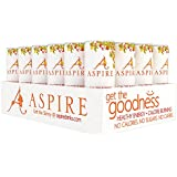 Aspire Healthy Energy, Calorie Burning, Zero Calorie, Zero Sugar Drink Mango Lemonade 24 Count Case