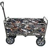 MAC Sports Collapsible Folding Outdoor Utility Wagon, Camo