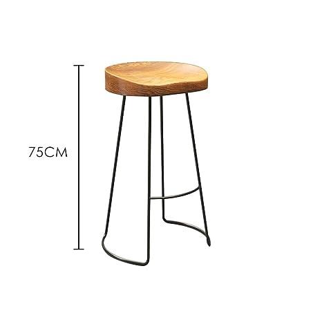 Amazon.com: ch-AIR JL - Mesa de bar de madera maciza para té ...