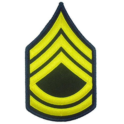 U.S. Army E-7 Sergeant First Class Iron on Embroidered Patches (Halloween Stores New York)