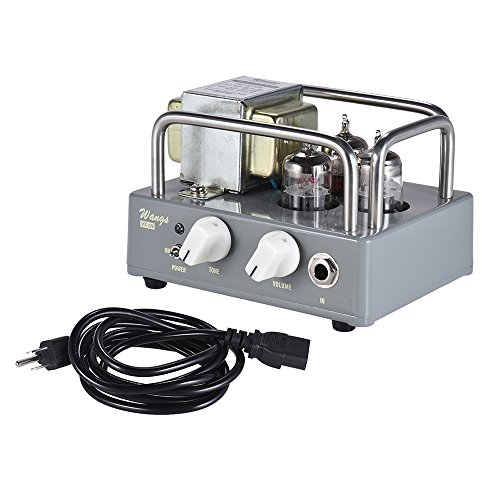 Muslady BIYANG Wangs VT-1H Compact Powerful 1 Watt All Tube Guitar Amplifier Amp Head with Volume & Tone Controls