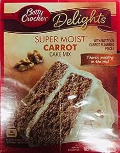 Amazon Com Betty Crocker Super Moist Carrot Cake Mix 15 25 Ounce