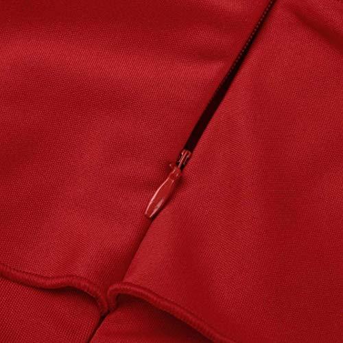 Blouse Elgante Femme Spcial Dos Dentelle Shirts Mode Modle pissure Shirt Courtes Nu Rouge Col Impression Jeune Casual Rond Chemise Creux Mode Et Shirt Style Manches T Branch 4qtBPdd