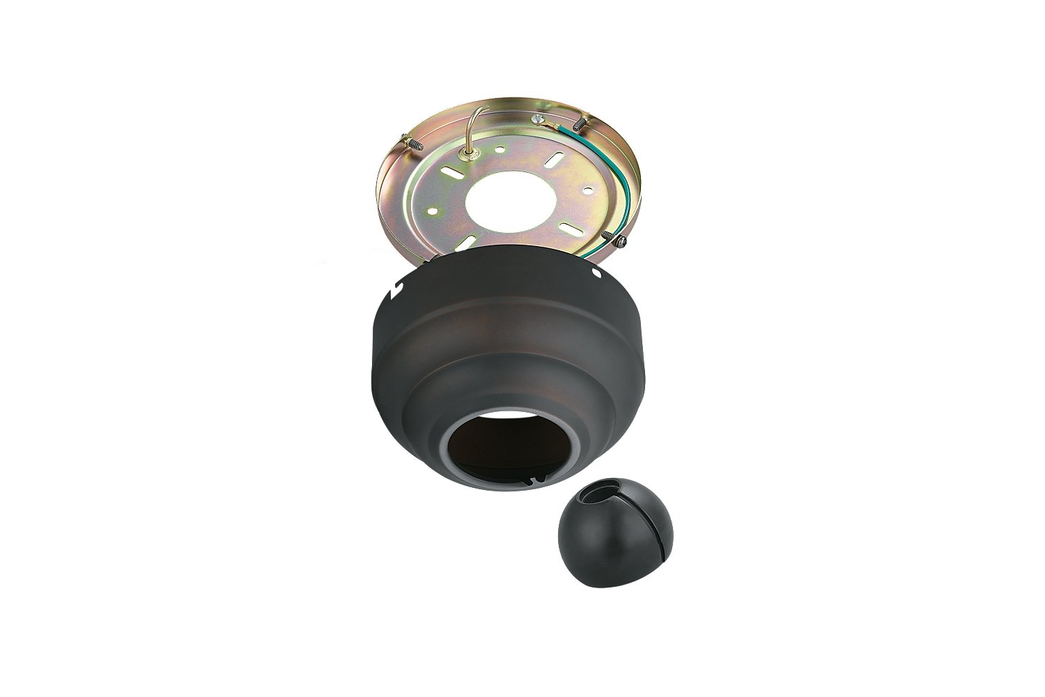 Monte Carlo MC95RB Fixture Accents/Parts Slope Ceiling Adapter