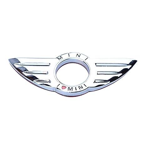 Dealglad - Cerradura de metal para puerta de coche con emblema para BMW Mini Cooper (