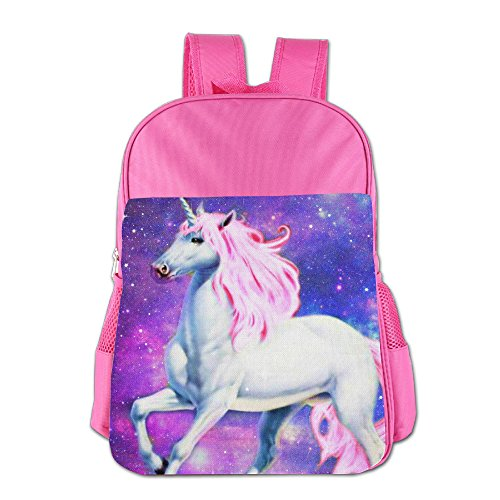 Unicorn Kids School Bag For 4-15 Years Old Child ShoulderBackpack Pink For Girls
