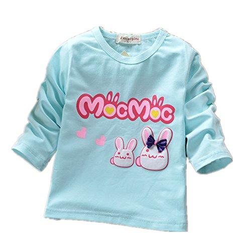 ftsucq-little-girls-long-sleeve-cartoon-bunny-pattern-tee-shirtsblue-l