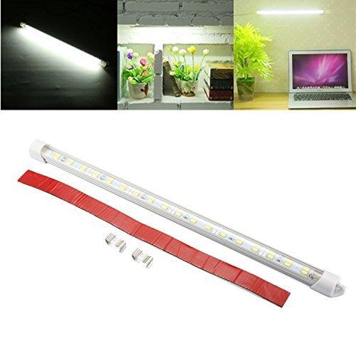 LED-Strip-Light-BarSOLMORE-DC-12V-7W-36-LED-Interior-Light-Lamp-Strip-Bar-Car-Van-Bus-Caravan-Under-Cabinet-Strips-Light-LED-Desk-Reading-Lamp-for-Work-Tables-Pianos-DJs-Cabinet-Display-White-4Pcs