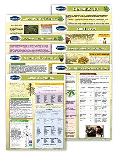 [해외]Cannabis and CBD Charts - 8 Chart Quick Reference Guide Bundle - Cannabinoid Educational Series by Permacharts / Cannabis and CBD Charts - 8 Chart Quick Reference Guide Bundle - Cannabinoid Educational Series by Permacharts