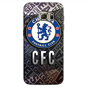 Cover It Up - Chelsea CFC Galaxy S7 Edge Hard Case