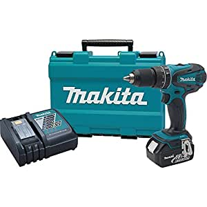 Makita XPH012 18V LXT Lithium-Ion Cordless 1/2-Inch Hammer Driver-Drill Kit with One Battery- DIscontinued by Manufacturer