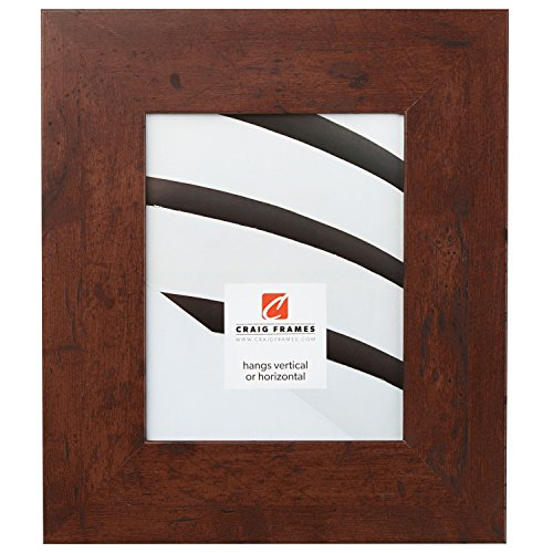 Craig Frames Bauhaus, Modern Dark Walnut Picture Frame, 16 by - Walnut Frame Picture