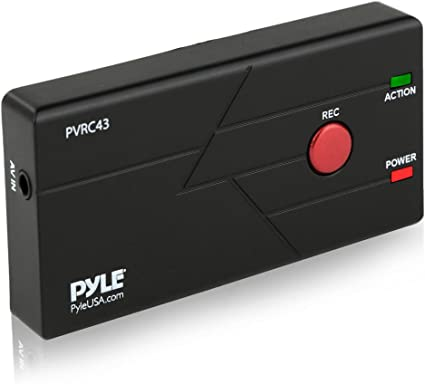 Pyle PVRC43 External Capture Card Video Recorder Ability to Record Live TV
