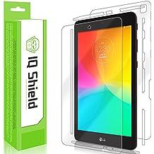 LG G Pad IV 8.0 Screen Protector, IQ Shield LiQuidSkin Full Body Skin + Full Coverage Screen Protector for LG G Pad IV 8.0 (FHD LTE) HD Clear Anti-Bubble Film