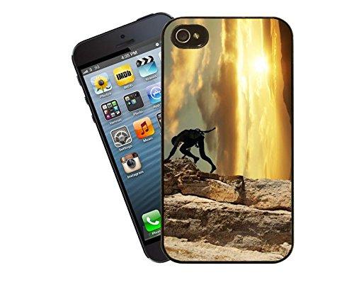 Bergsteigen-iPhone-Tasche - passen diese Abdeckung Apple Modell 5 und 5 s - von Eclipse-Geschenk-Ideen