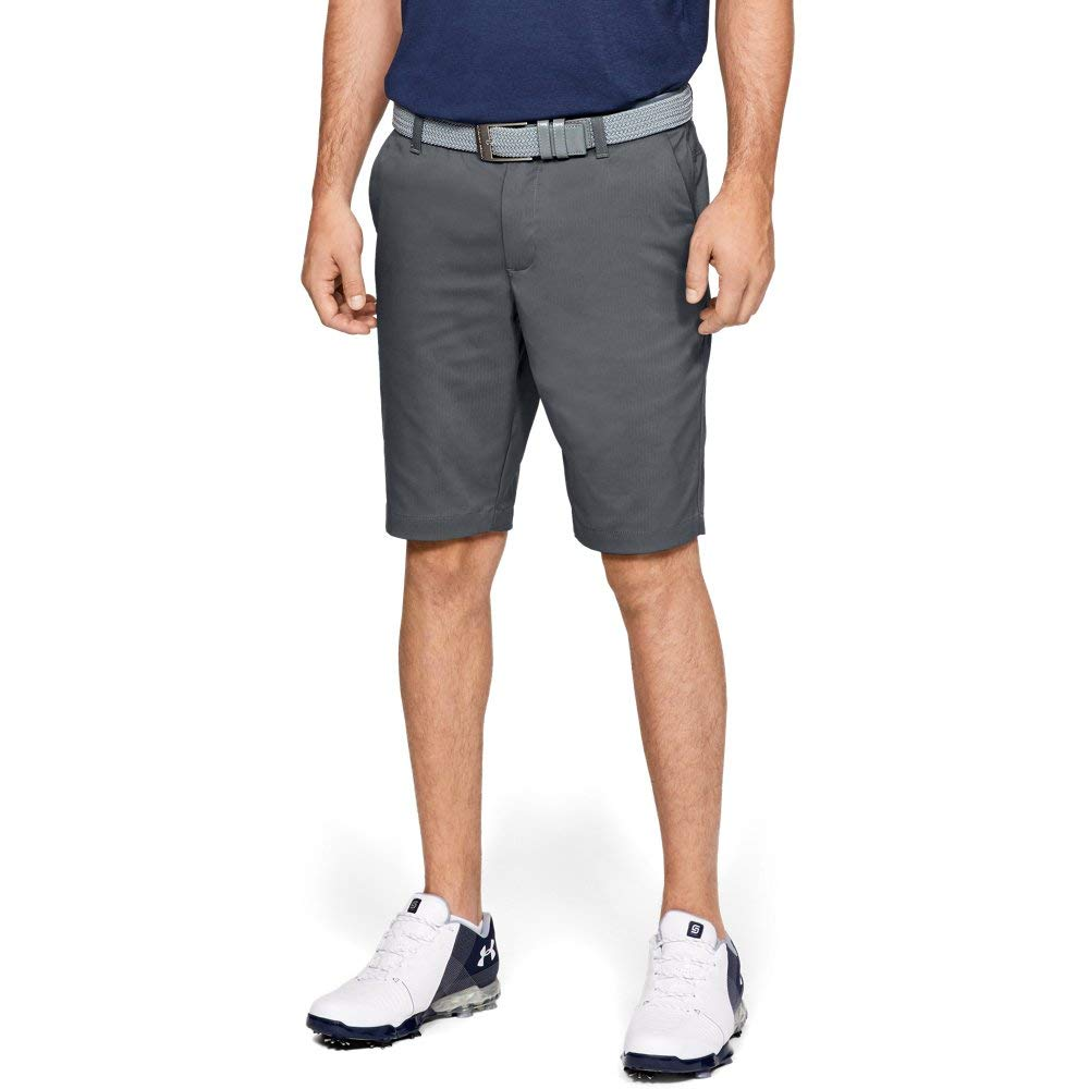 Under Armour Men's Showdown Tapered Golf Shorts, (012)/Pitch Gray, 32 by Under Armour