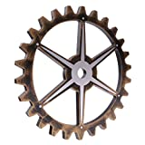 Jili Online 29cm Wood Vintage Steampunk Gear Home Bar Pub Cafe Wall Hanging Art Craft #D For Sale