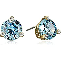 "kate spade new york""Rise and Shine"" Aquamarine Small Stud Earrings"