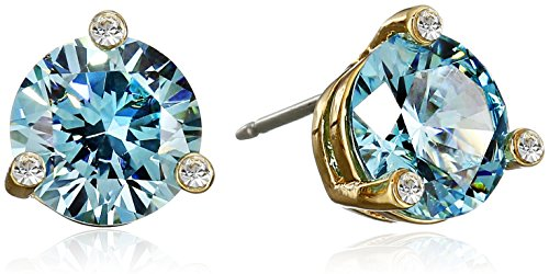 kate spade new york''Rise and Shine'' Aquamarine Small Stud Earrings by Kate Spade New York