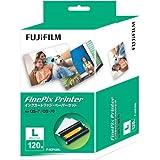 富士フイルム インクカートリッジ/ペーパーセット Lサイズ120枚入り IP F-ICP120L