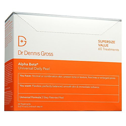 - Dr. Dennis Gross Skincare Alpha Beta Universal Daily Peel | 60 Count