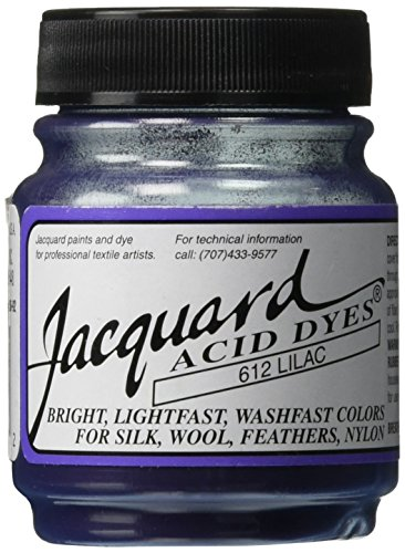 Acid Dyes (Jacquard Acid Dyes 1/2 Ounce-Lilac)