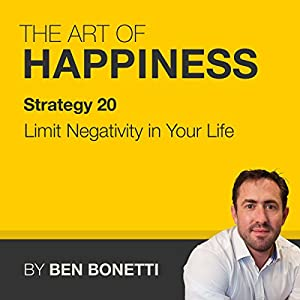 Strategy 20 - Limit Negativity in Your Life Speech