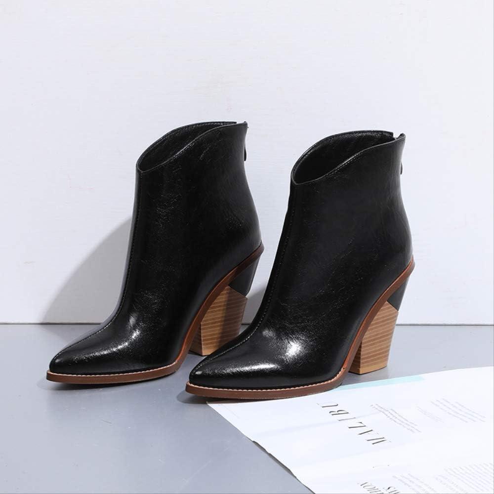 SHZSMHD Snake Print Zip Blok Hakken Dames Schoenen Boten Westerse Enkellaarzen Cool Boot voor Vrouwen Meerkleurig