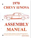 img - for 1970 Chevy Nova and Nova SS Assembly Manual 70 Chevrolet Factory book / textbook / text book