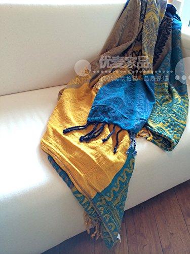 DADAO-Sofá Sofá Tela Toalla Manta Moda sofá Cubierta Antideslizante Toallas,220 * 260cm.: Amazon.es: Hogar