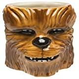 Zak Designs STAB-8515 Star Wars Coffee Mugs, Sculpted, Ep4 Chewbacca Deal (Small Image)