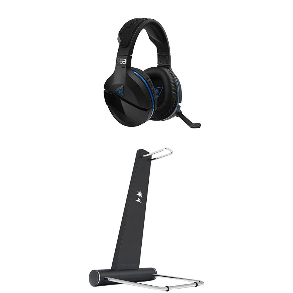 Turtle Beach Stealth 700 Premium Wireless Surround Sound Gaming Headset (PS4, PS4 Pro) + God of War (PS4)